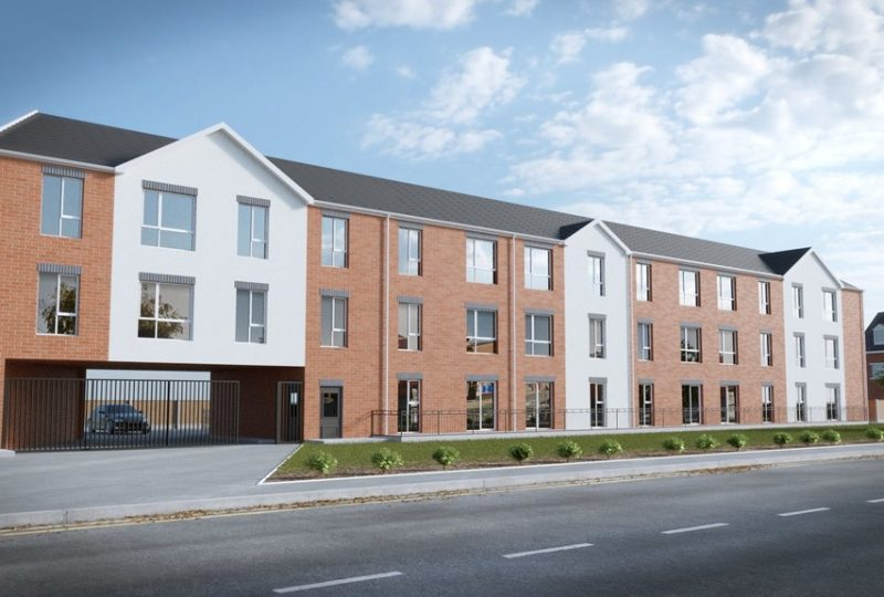 Tilton Apartments, Coleman Road, New Humberstone